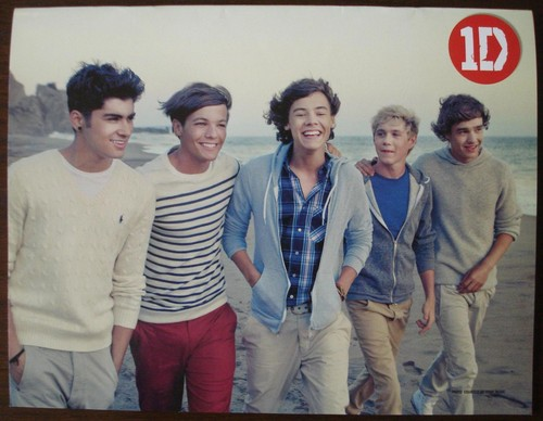 Back Cover, One Direction Magazine (Philippines)