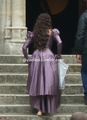 Back of the Purple Dress