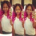 Bahja's hair
