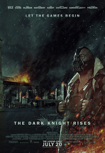 The Dark Knight Rises wallpaper possibly containing a rifleman and anime called Bane - Gotham City (poster)