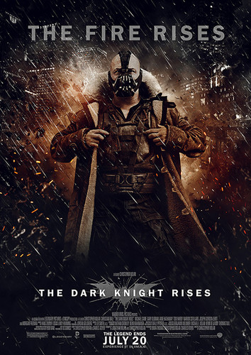 The Dark Knight Rises wallpaper with anime called Bane - The Fire Rises