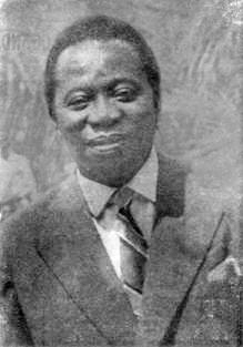 Barthélemy Boganda (4 April 1910 – 29 March 1959)
