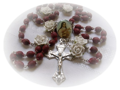 Beautiful Rosary Beads For My Angel Sister <3