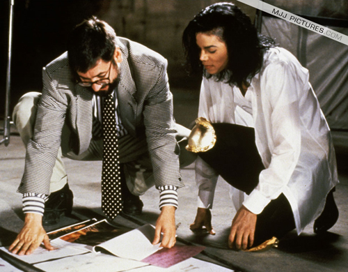 Behind the Scenes of Black or White <3<3