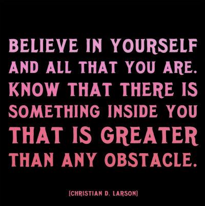 Believe in Yourself, Evan