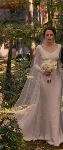 Bella in her Wedding Dress - BD1