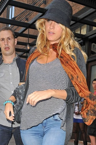 Blake Lively out in Tribeca