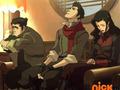 Bolin, Mako, and Asami