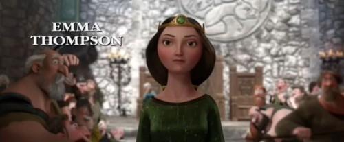 Emma Thompson as Queen Elinor