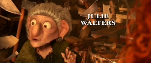 Julie Walters as the Witch