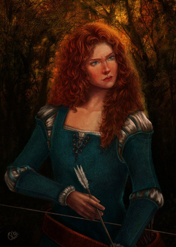 brave wallpaper entitled Real Life Merida