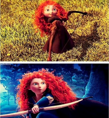 Young and old Merida