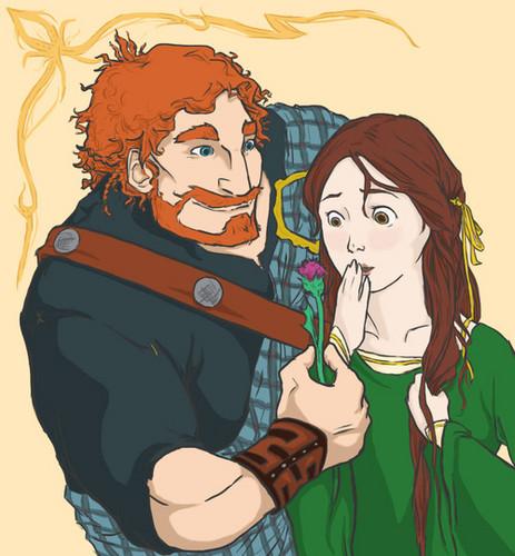 King Fergus and Queen Elinor