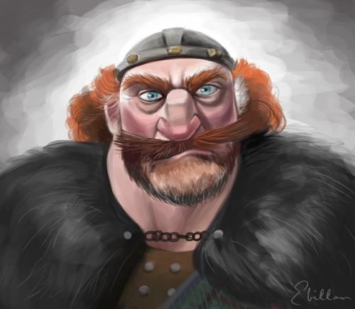 King Fergus Brave Fan Art 31266878 Fanpop