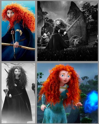 Merida - Legende der Highlands Hintergrund titled Merida - Legende der Highlands