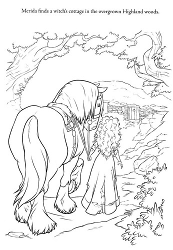 New ব্রেভ coloring pages