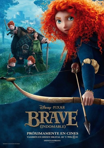 Spanish Official Ribelle - The Brave Poster (My country's poster)