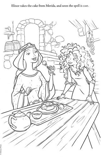 《勇敢传说》 new coloring pages (A bit spoiler)