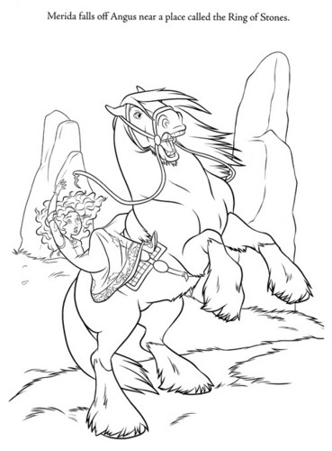 Ribelle - The Brave new coloring pages (A bit spoiler)