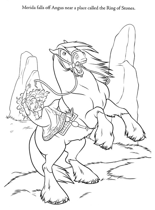 Rebelle new coloring pages (A bit spoiler)