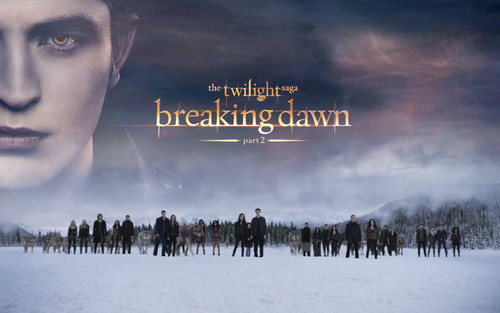 Twilight Series wallpaper possibly containing a sunset and anime entitled Breaking Dawn part 2 Edward wallpaper