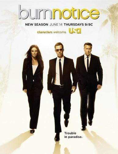 Burn Notice Season 6 Poster