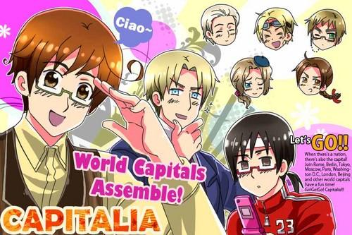 CAPITALIA: World Capitals Series