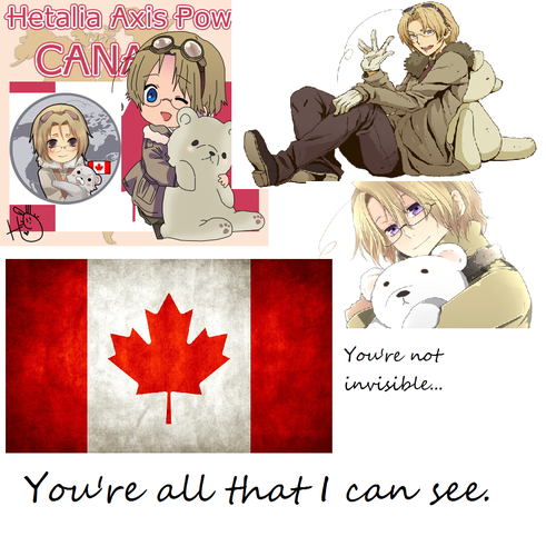 Canada poster I made out of boredom