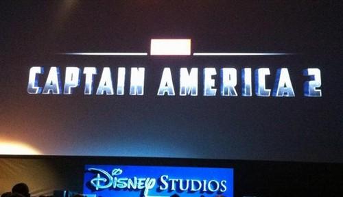 Captain America 2 logo