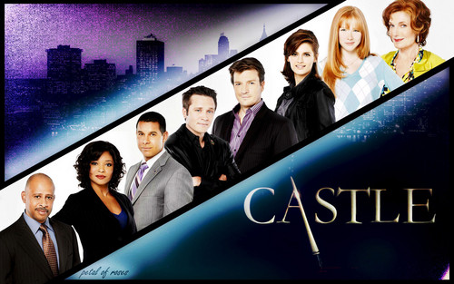 Castle wallpaper probably containing a business suit entitled Castle Cast