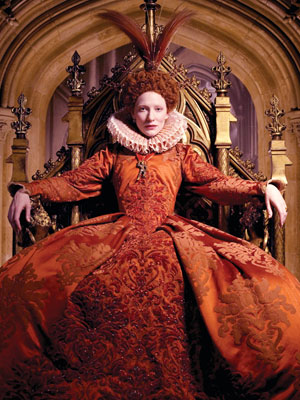 Tudor History wallpaper called Cate Blanchett as Elizabeth I