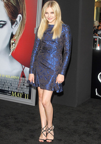 Chloë - Dark Shadows premiere