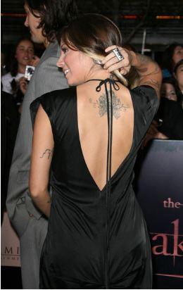 Christina Perri tattoos