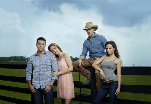 Dallas Tv Show images Christopher, Rebecca, John Ross and Elena wallpaper and background photos