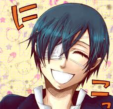 Ciel Phantomhive wolpeyper possibly with a portrait titled Ciel Smiling
