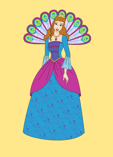 Cinderella as Rosella - barbie-movies Fan Art