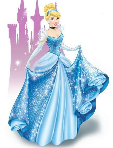 Disney Princess wallpaper possibly containing a dinner dress and a gown entitled Cinderella
