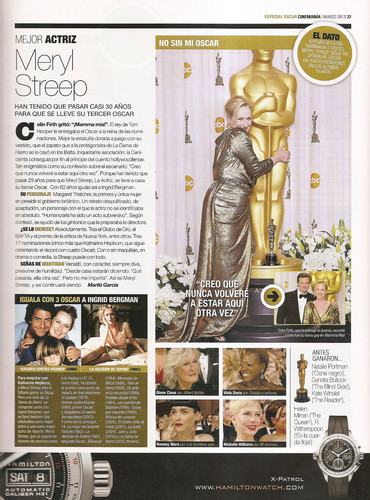 Cinemania Magazine [March 2012] - meryl-streep Photo