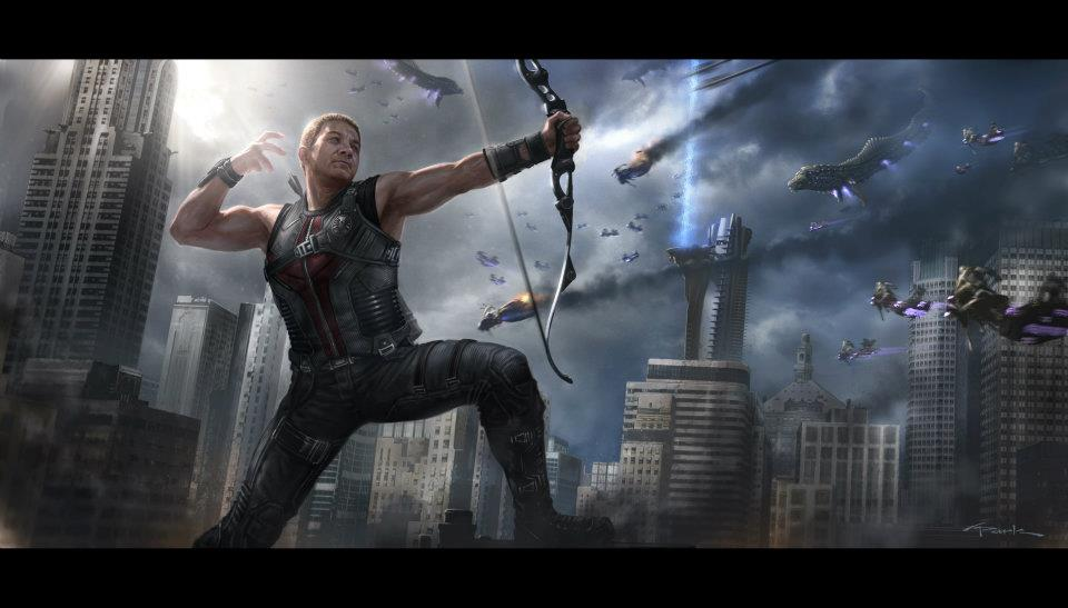 Concept art of Hawkeye