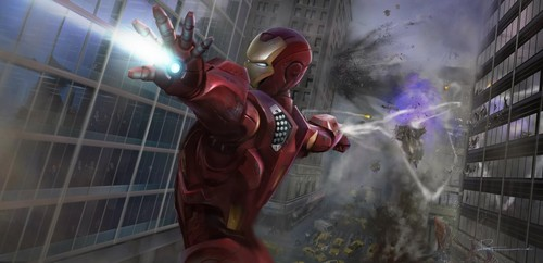 Concept art of Iron Man