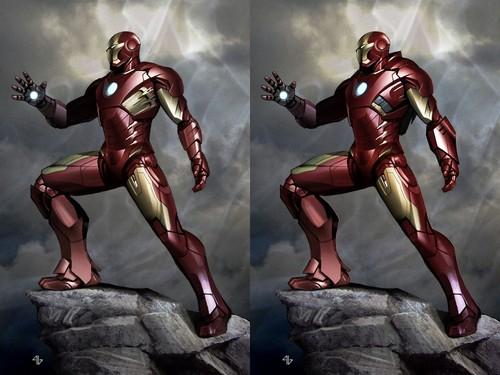 Concept art of Iron Man