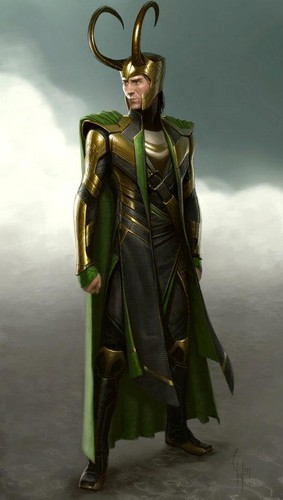 Concept art of Loki