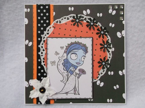 Corpse Bride Card