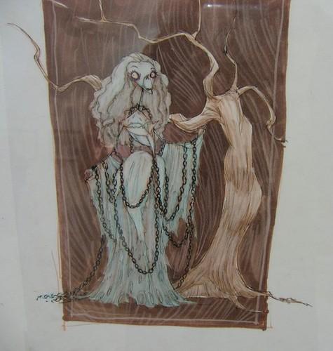 Corpse Bride Concept art