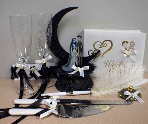Corpse Bride Wedding Accessories