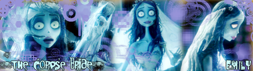 Corpse Bride various characters x)