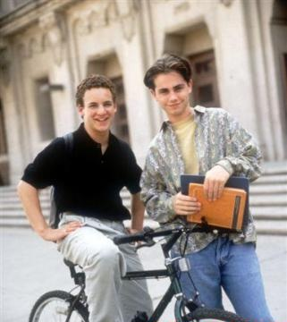 Boy Meets World wallpaper possibly with a street titled Cory and Shawn