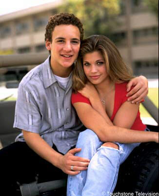 Cory and Topanga (Boy meets world)