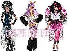 Monster High پیپر وال titled Costumes Ghouls Rule