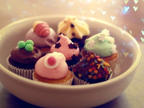 Cupcakes  - food Wallpaper